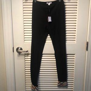 NWT Burberry leggings size 0/2 or 14 kids black